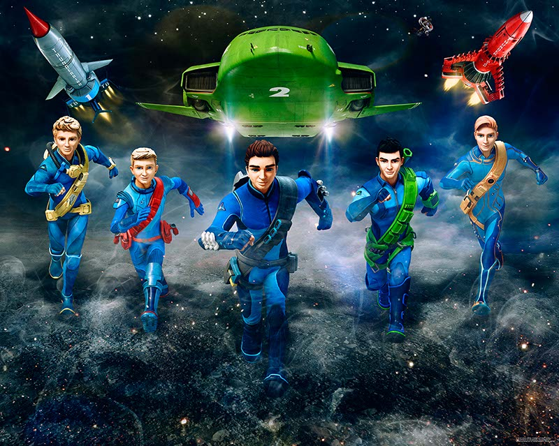 3D tapeta Thunderbirds Walltastic